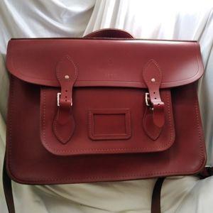 New Leather Satchel